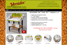 Versidex™ The Original Plate Joinery Indexing System